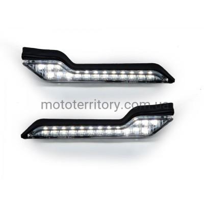 Barkbusters LED White Light. Светодиодные дневные ходовые огни