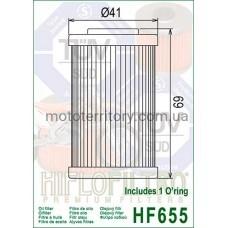 HifloFiltro HF655 масляный фильтр