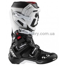 Мотоботинки Leatt GPX 5.5 FlexLock Boot White-Black