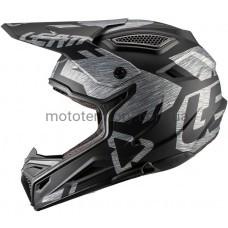 Мотошлем Leatt Helmet GPX 4.5 V20 ECE Brushed