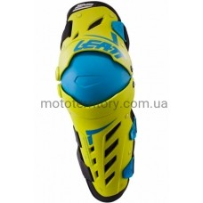 Мотонаколенники Leatt Knee Guard Dual Axis Flo Yellow