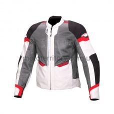 Мотокуртка Macna Event Gray-Red