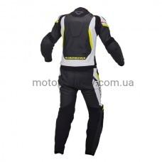 Мотокостюм Macna Hyper Black-Fluo раздельный