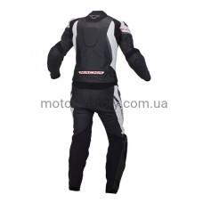 Мотокостюм Macna Hyper Black-Gray раздельный