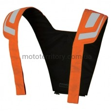 Мотожилет Macna Vision Vest N Orange светоотражающий