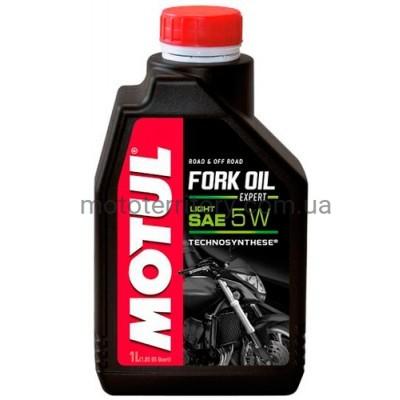 Motul Fork Oil Expert Light SAE 5W 1L вилочное масло