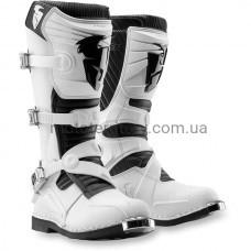 Мотоботинки Thor S12 Ratchet White